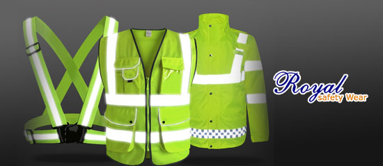 Certified HI-VIZ Reflective Safety Vest