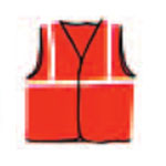 multiple opening reflective safety vests